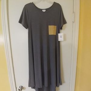 NWT LuLaRoe Carly Hi-Low Dress M